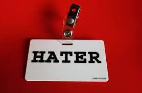 L'angolo degli haters!